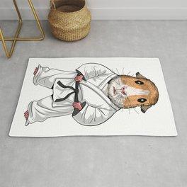 Guinea Pig Karate Rug