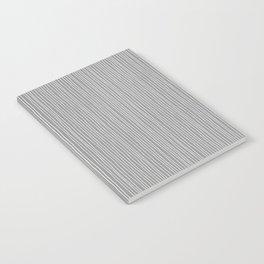 Platinum Lines Never Fail - Dark Gray Notebook