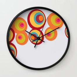 8 Balls Wall Clock
