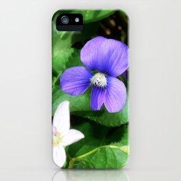 Violet 05 iPhone Case