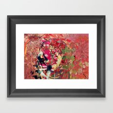 Media Explosion Framed Art Print
