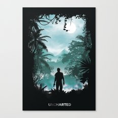 Uncharted Territory Canvas Print