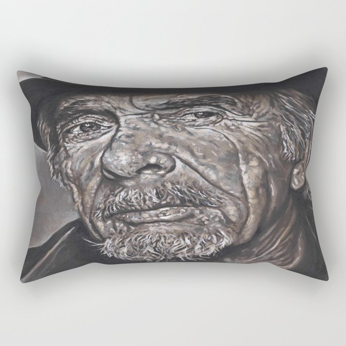 Haggard Outlaw Rectangular Pillow