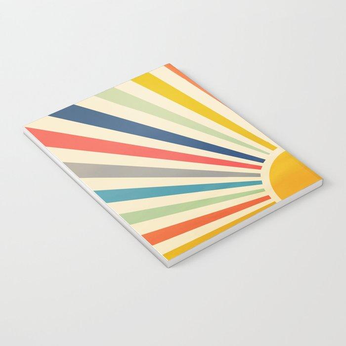 Sun Retro Art III Notebook
