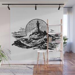 Lighthouse Wall Mural