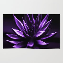 Succulent Plant In Purple Color #decor #society6 #homedecor Rug