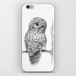 The Ural Owl iPhone Skin