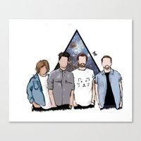 bastille Canvas Prints featuring bastille by Phastille