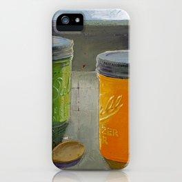 ball mason jars iPhone Case