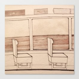 travelogue Canvas Print