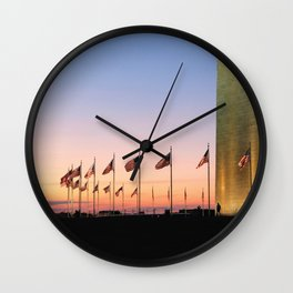My Country 'tis of Thee Wall Clock