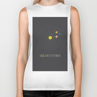 solar system Biker Tanks featuring Solar System by Loaded Light Photography