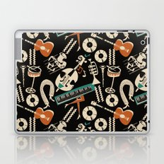 Jazz Rhythm (negative) Laptop & iPad Skin
