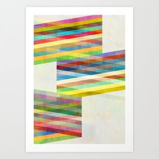 Graphic 9 X Art Print