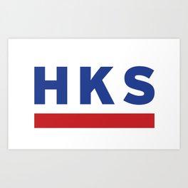 HKS Art Print