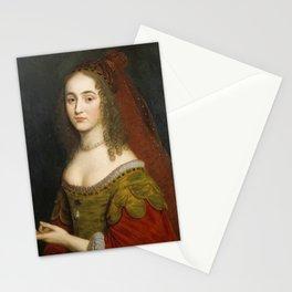 Gerard van Honthorst - Princess Henrietta Maria, Princess Palatine, Princess of Siebenbürgen, Transy Stationery Cards