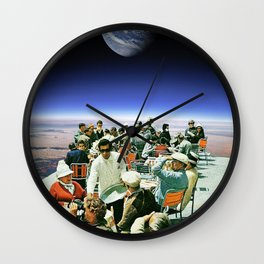 No. 1 Galactic Restaurant Wall Clock