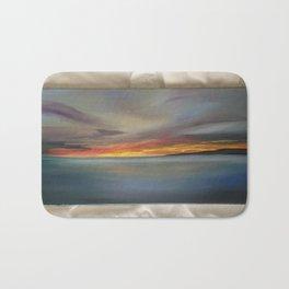 San Clemente Sunset Bath Mat