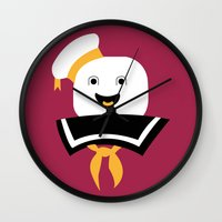 ghostbusters Wall Clocks featuring Ghostbusters by FilmsQuiz