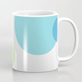 Blue Circles Coffee Mug