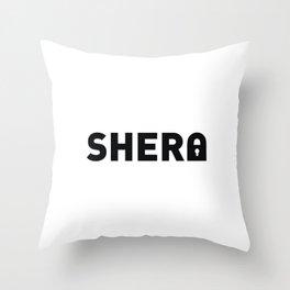 Sher-lock Throw Pillow