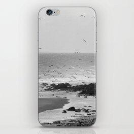 Beach, Calais, France. iPhone Skin
