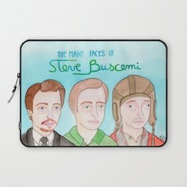 The many faces of Steve Buscemi Laptop Sleeve