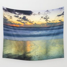 Sea storm approaches Wall Tapestry