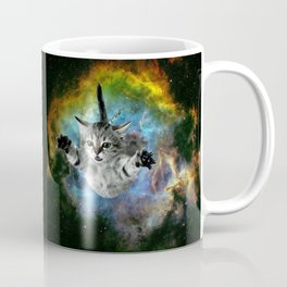 Galaxy Cat Universe Kitten Launch                                                 Coffee Mug