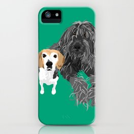 Max and Jimmy iPhone Case