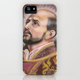 Saint Ignatius of Loyola iPhone Case