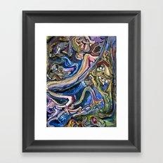 Cry Wolf Framed Art Print