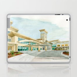 Watercolor Warwick World Headquarters Laptop & iPad Skin