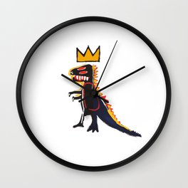 Basquiat Dinosaur Wall Clock