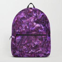 Abalone Shell | Paua Shell | Magenta Tint Backpack