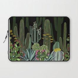 Cactus Garden at Night Laptop Sleeve