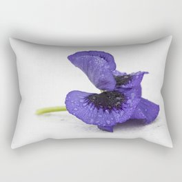 Violet spring dreams Rectangular Pillow