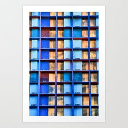 Block Living Art Print