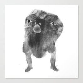 Heavy Headed Trotter Canvas Print