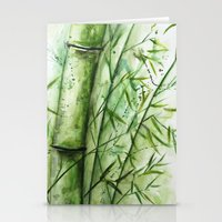 bamboo Stationery Cards featuring Bamboo by rchaem