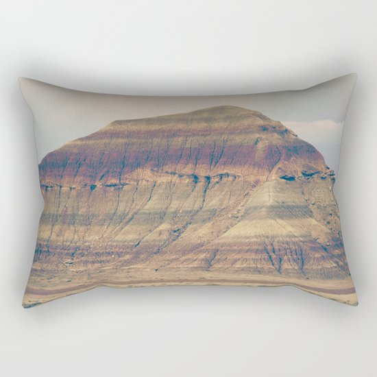 Petrified Desert Rectangular Pillow