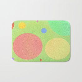 Re-Created Twisters No. 1 by Robert S. Lee Bath Mat