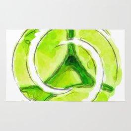 A twist of lime (lite) Rug