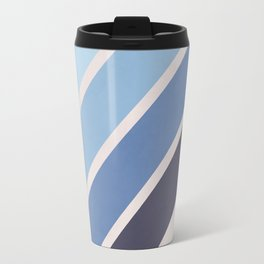 Blue Color Drift Travel Mug