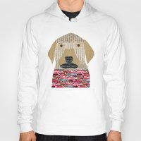 labrador Hoodies featuring the labrador by bri.buckley