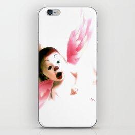 PLAYFUL ANGEL iPhone Skin