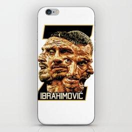 Zlatan Ibrahimovic (Four Faces) - Exposure iPhone Skin