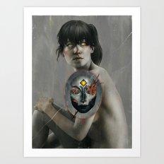 The Whispers.  Art Print