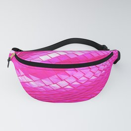 Pink dragon skin Fanny Pack