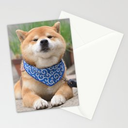 puckered mouth Stationery Cards